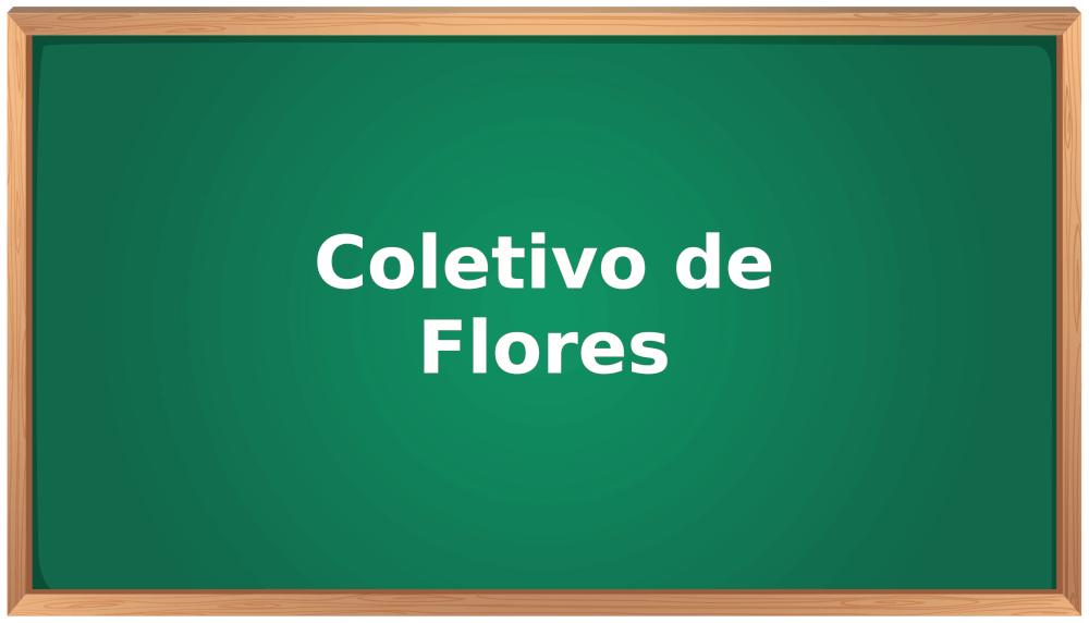 coletivo de flores